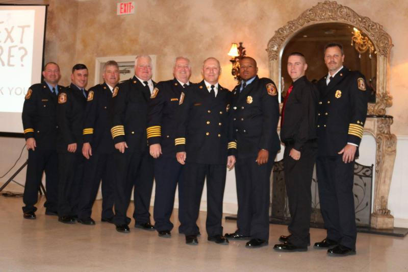2018 Fire Line Officers
